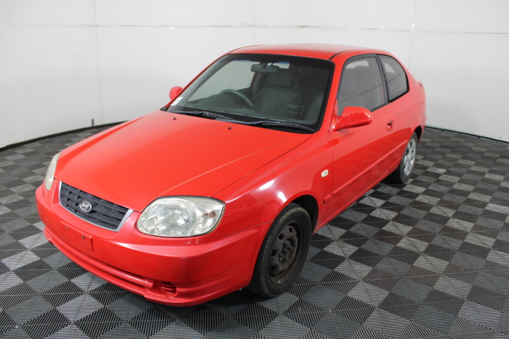 2003 Hyundai Accent 1.6 LS Automatic Hatchback (WOVR)