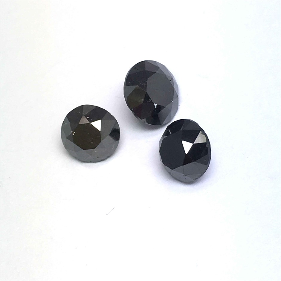 Three Loose Diamond, 4.25ct in Total