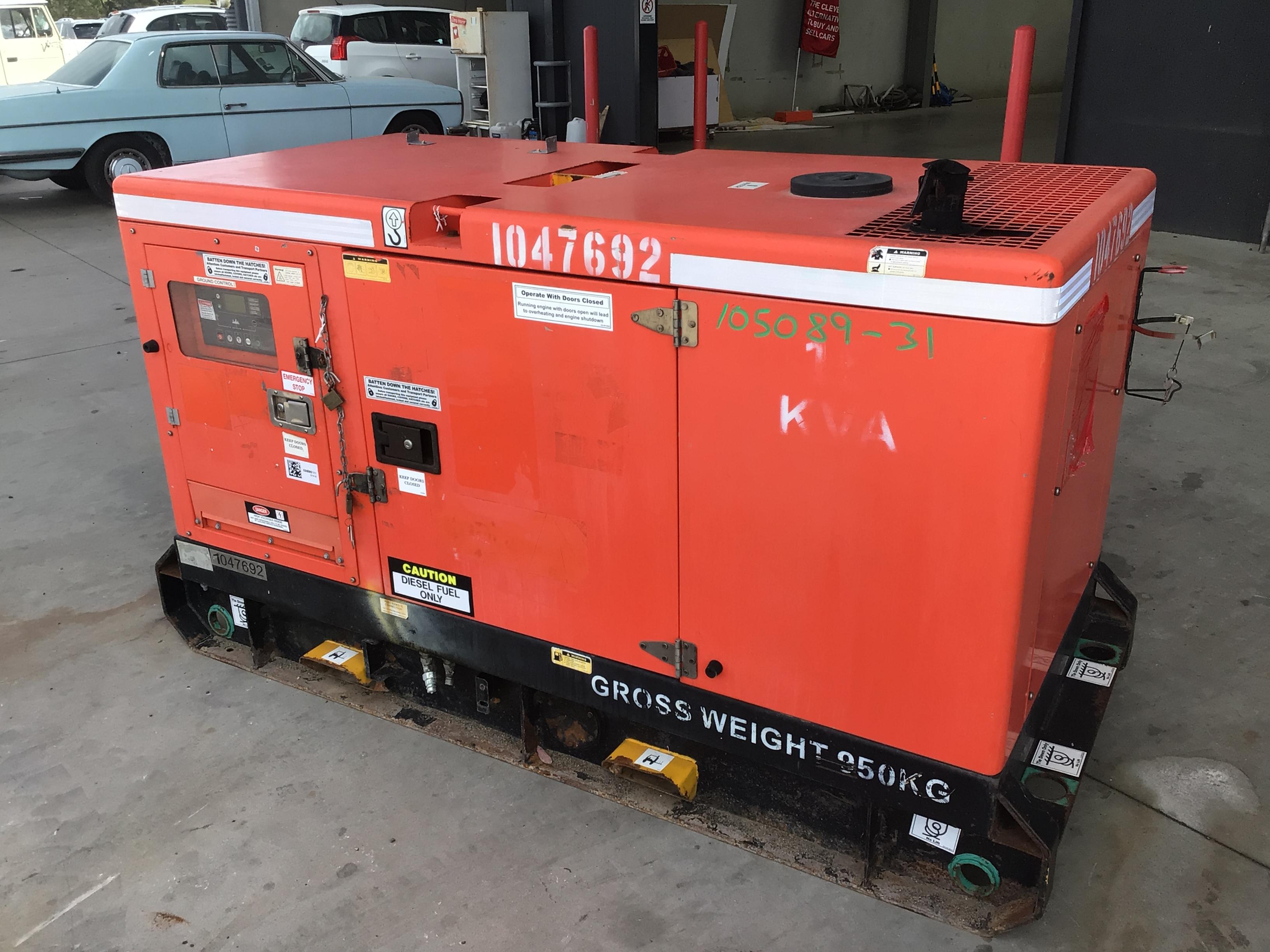 2011 Powerlink PK15S 15 kva Generator