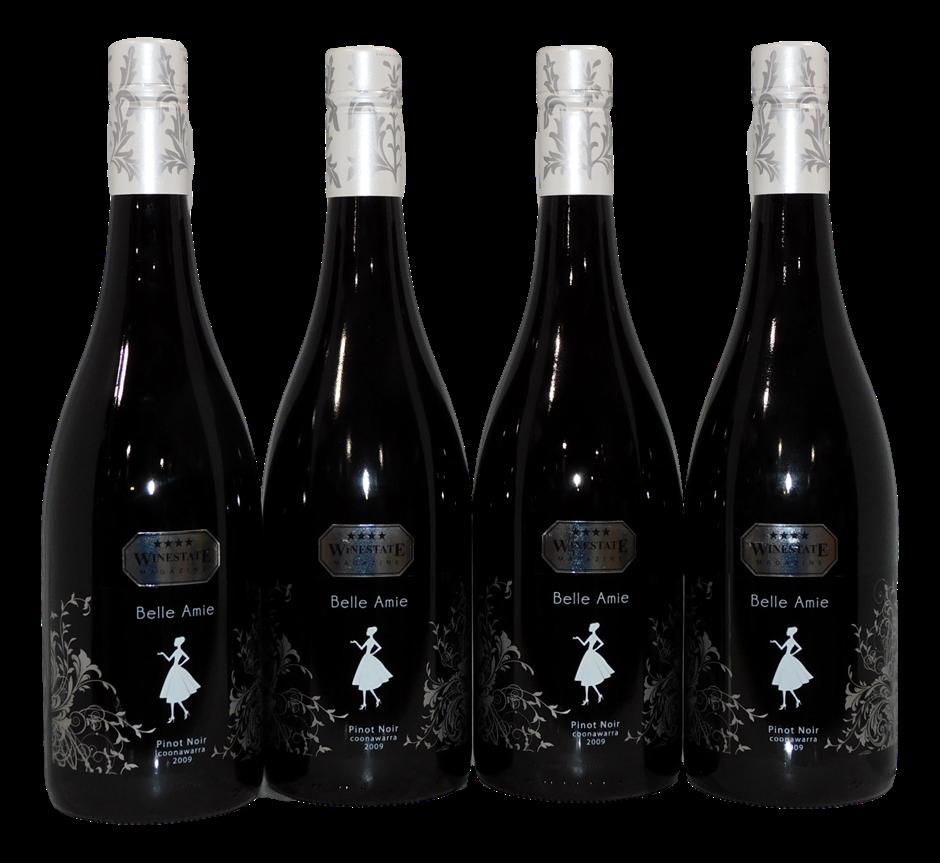 Belle Amie Pinot Noir 2009 (4x 750mL), Coonawarra, SA