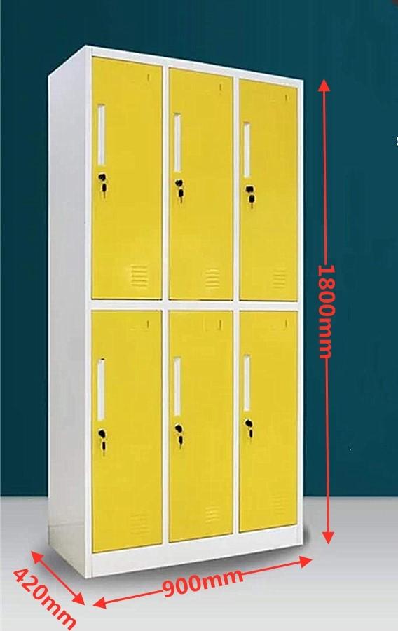 6-Door Locker