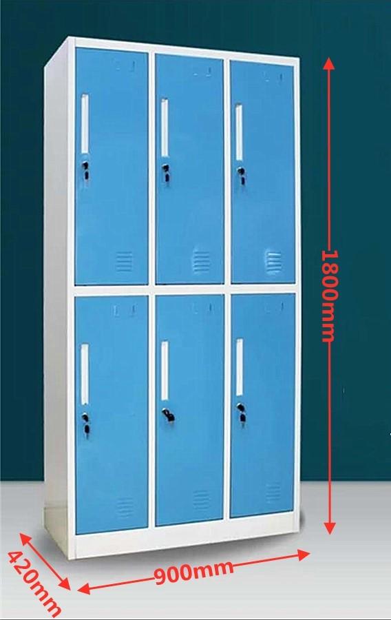 6 Door Locker