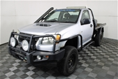 2010 Holden Colorado DX (4x4) RC T/D Man Cab Chassis(WOVR