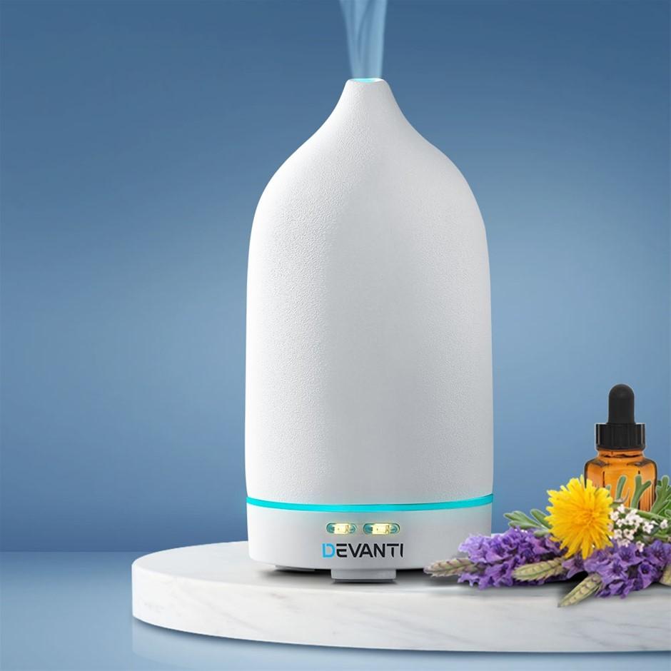 Devanti Ceramics Aroma Diffuser Aromatherapy Essential Oil Air Humidifier