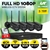 UL-tech CCTV Wireless Security Camera System 4CH Home Outdoor WIFI 4 Square