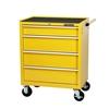 STANLEY 27``4 Drawer Tool Trolley, 23kg Storage Capacity , 2 Fixed Swivelli