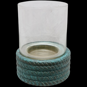 Corroded Copper Rope Hurricane (Size: 24