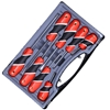 YATO 8pcs Screwdriver Set Slot & Phillips Head with Ergo Grip Handles in Ca