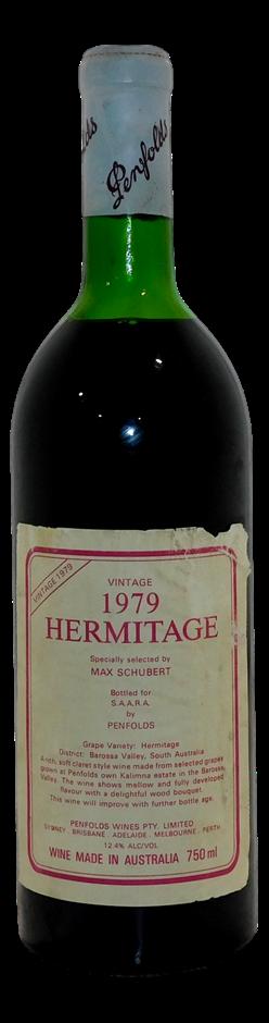 Penfolds Max Schubert Hermitage 1979 (1x 750mL), Barossa