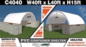Unused 2021 40ft x 40ft Container Shelters - Melbourne