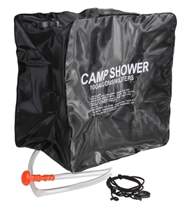 Solar Camp Shower 40L. Buyers Note - Dis