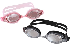 4 Pairs x Electroplate Swimming Goggles.
