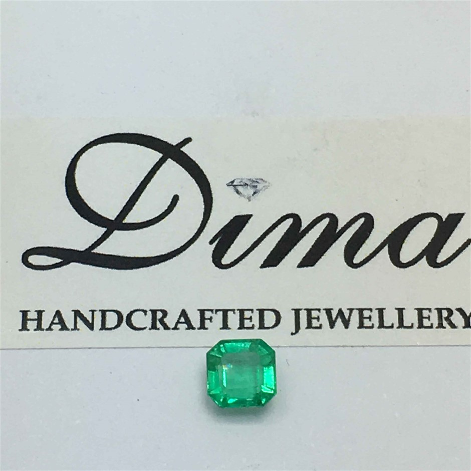 One Stone Emerald Emerald Cut 0.68ct
