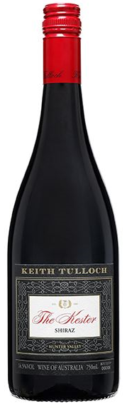 Keith Tulloch The Kester Shiraz 2017 (12x 750mL), Hunter Valley, NSW