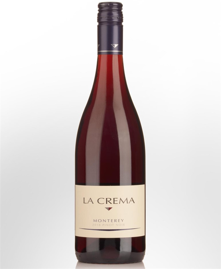 La Crema Monterey Pinot Noir 2018 (12x 750mL), California