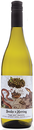 Snake & Herring Tough Love Chardonnay 2019 (12x 750mL), Margaret River, WA
