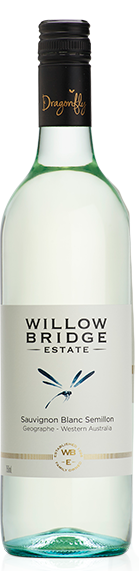 Willow Bridge Dragon Fly Sauvignon Blanc Semillon 2020 (12x 750mL), WA