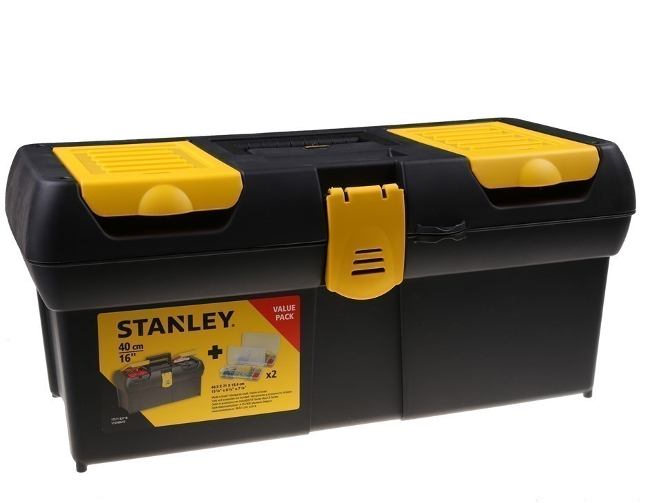 STANLEY 405mm Tool Box with Organisers. (SN:STST1-82718) (278324-12)