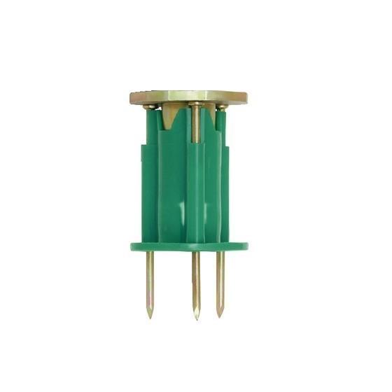 200 x POWERS Wood Knockers Cast-In Rod Hangers M12 Green. (SN:28220-DGR-K20