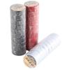 30 x TOLSEN PVC Insulation Tape, 19mm x 0.13mmx9.15M, Black/White/Red. Buye
