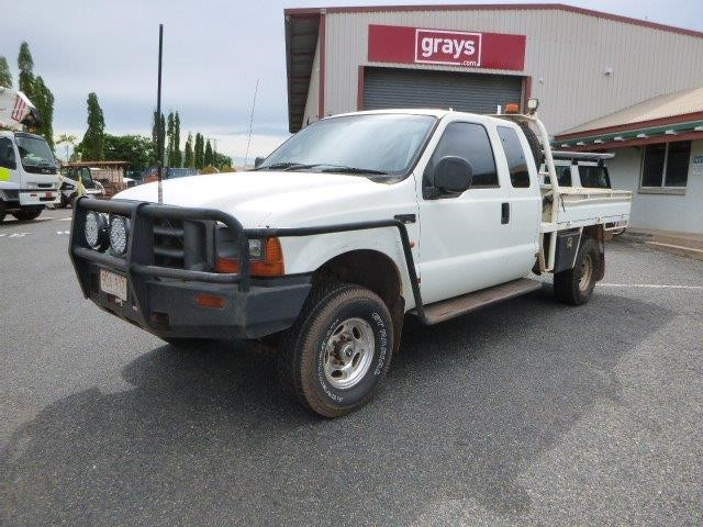 2002 Ford F-Series 250 4WD Manual Ute