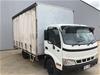 2005 Hino Dutton U414 4 x 2 Curtainsider Rigid Truck (Pooraka, SA)