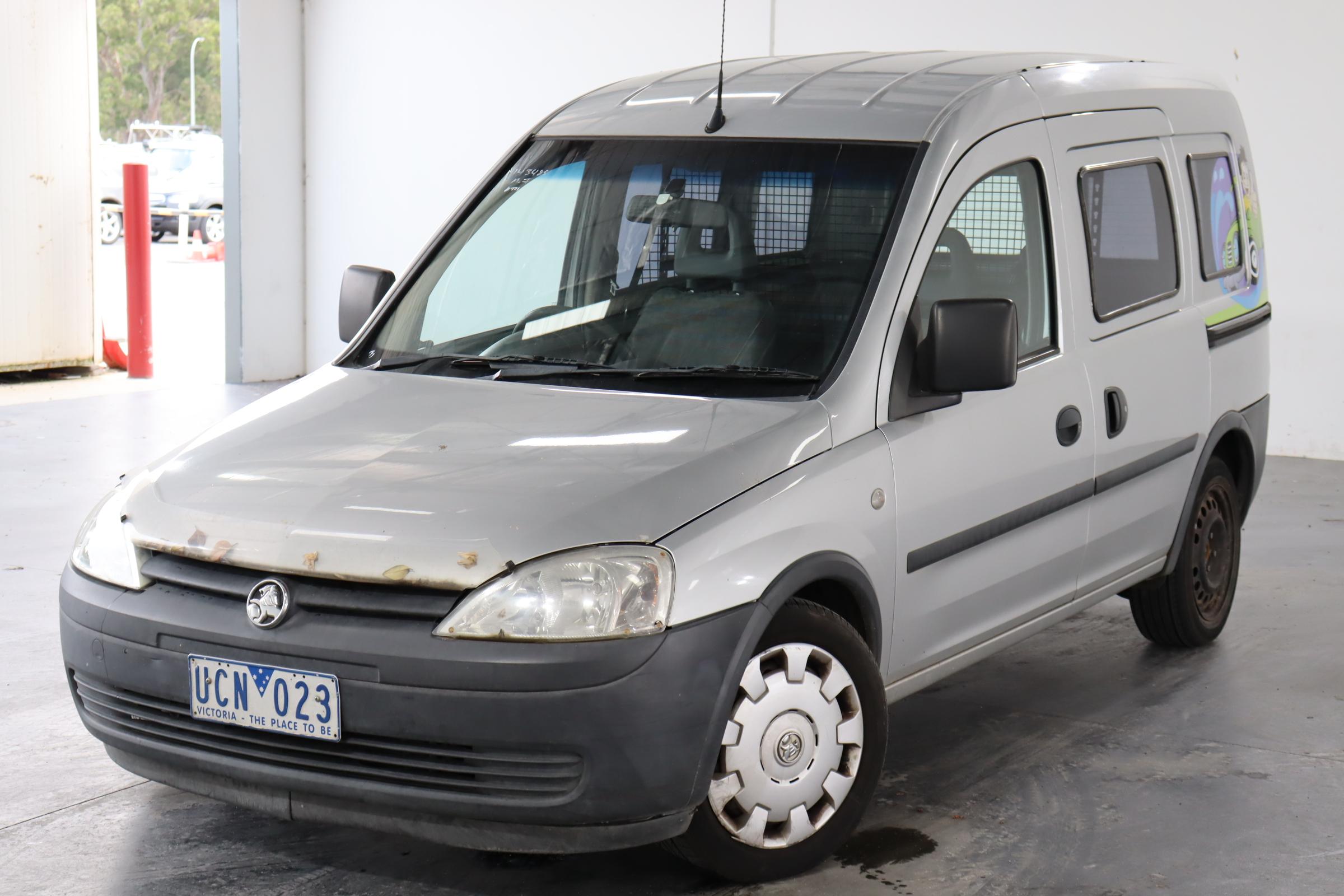 2005 Holden Combo XC Manual Van