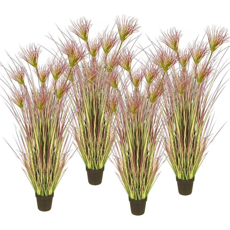 SOGA 4X 120cm Artificial Potted Papyrus Plant Fake Simulation Decor