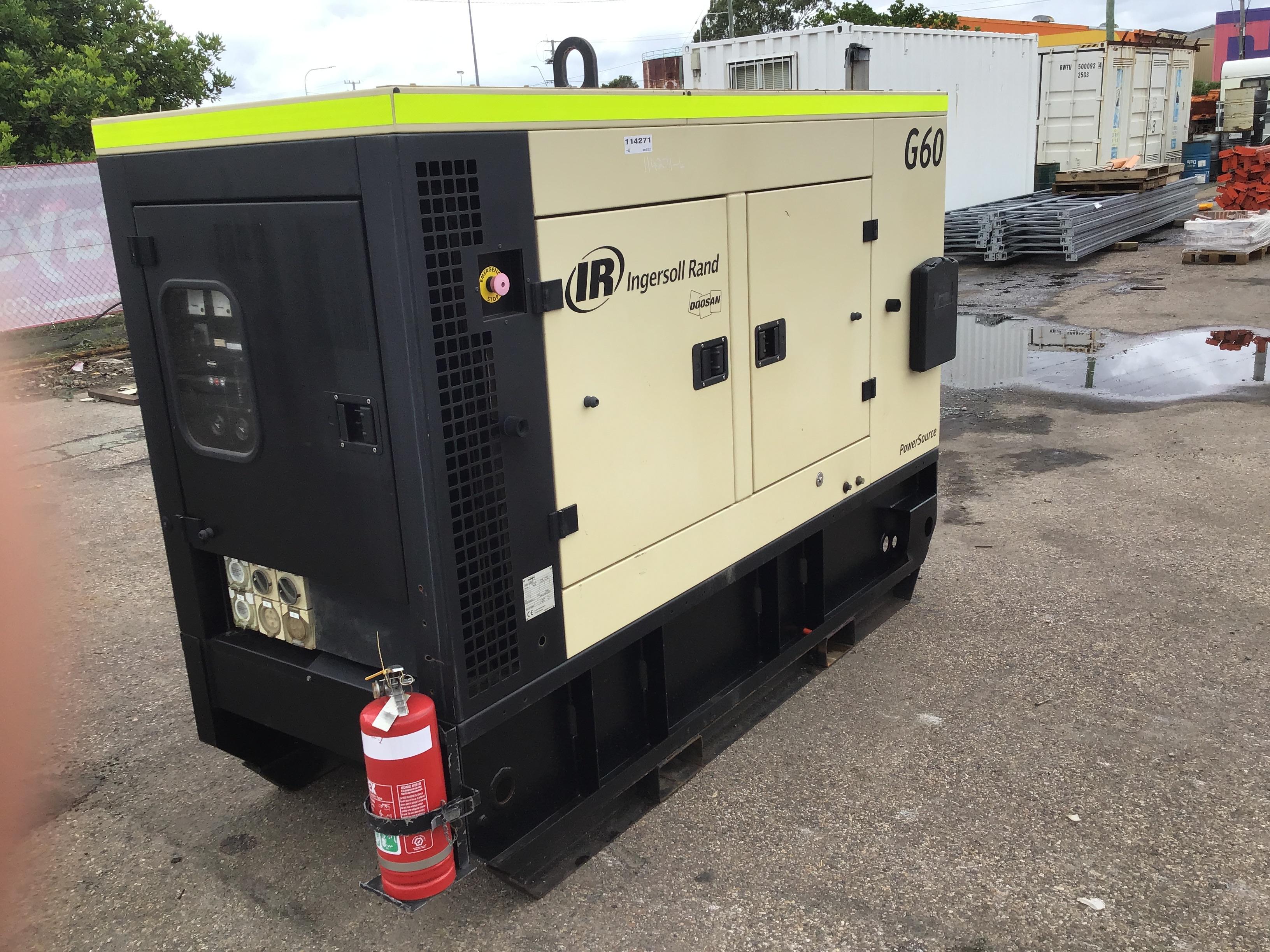 2011 Doosan Ingersoll Rand G60 60kVA Generator