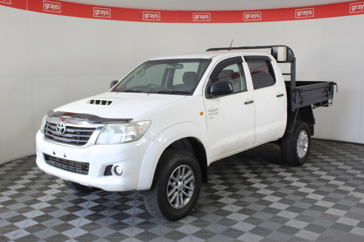 2013 Toyota Hilux SR (4x4) KUN26R Turbo Diesel Automatic Dual Cab