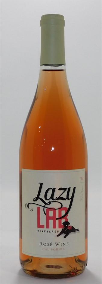 Lazy Lab Vineyards Rose 2017 (12x 750mL), California. Cork.