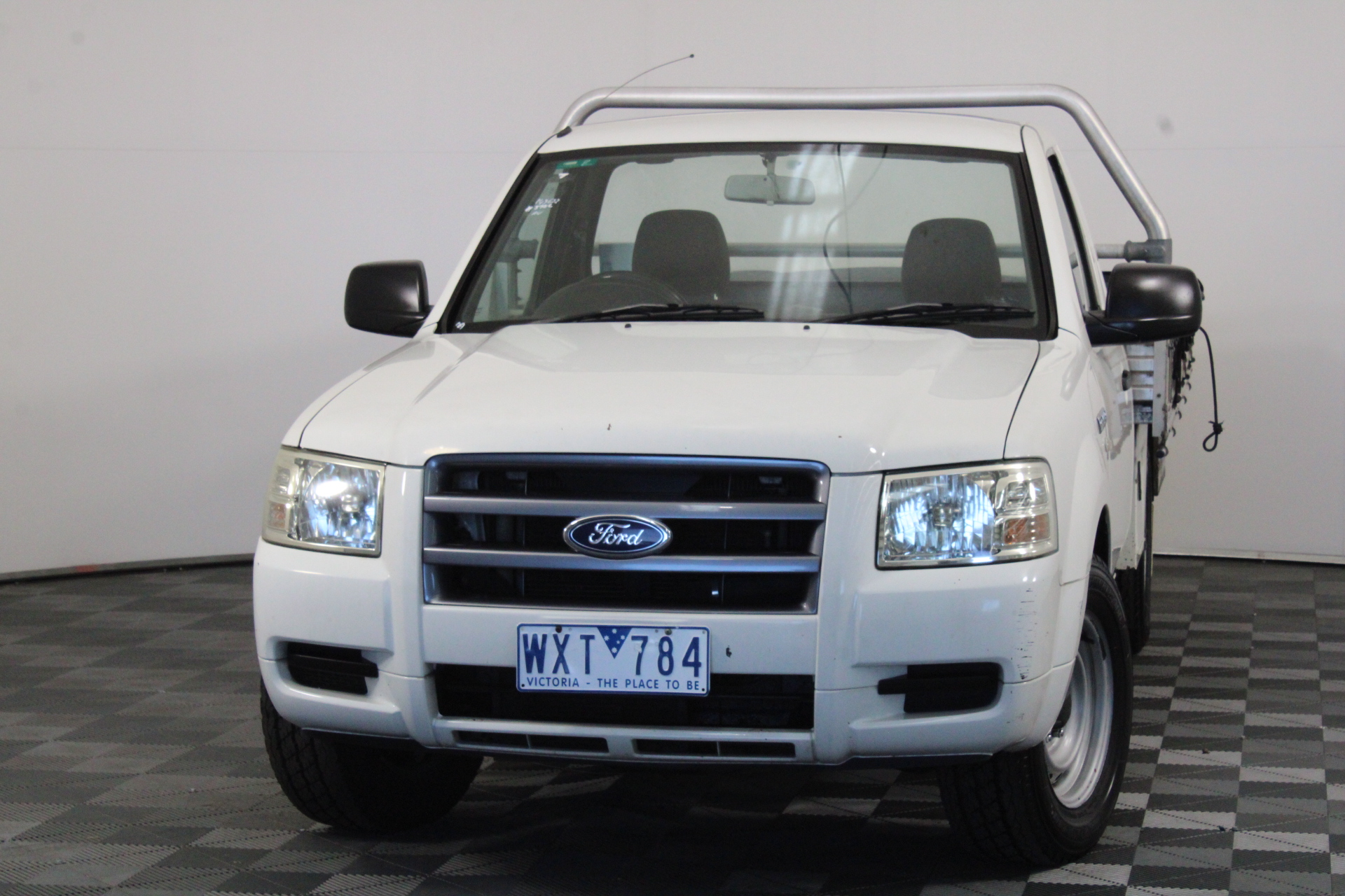 2008 Ford Ranger XL (4x2) PJ Turbo Diesel Manual Cab Chassis