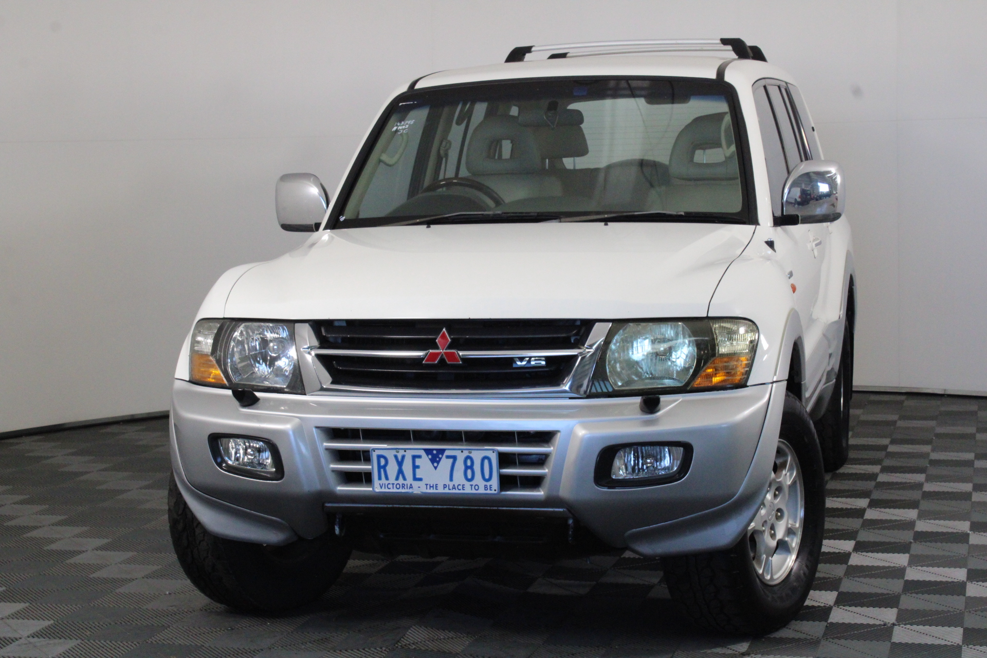 2002 Mitsubishi Pajero GLS LWB (4x4) Exceed NM Automatic 7 Seats Wagon