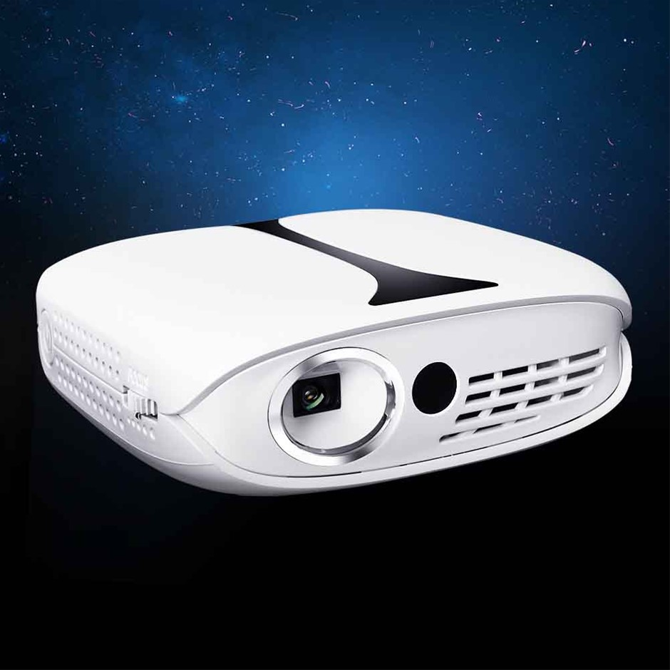 Devanti Mini Video Projector Wifi USB HDMI Portable 1000 Lumens HD 1080P