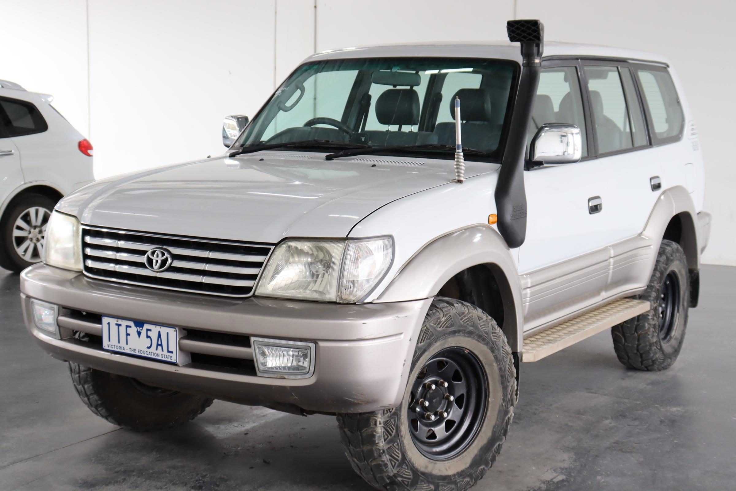 2002 Toyota Landcruiser Manual 8 Seats Suv
