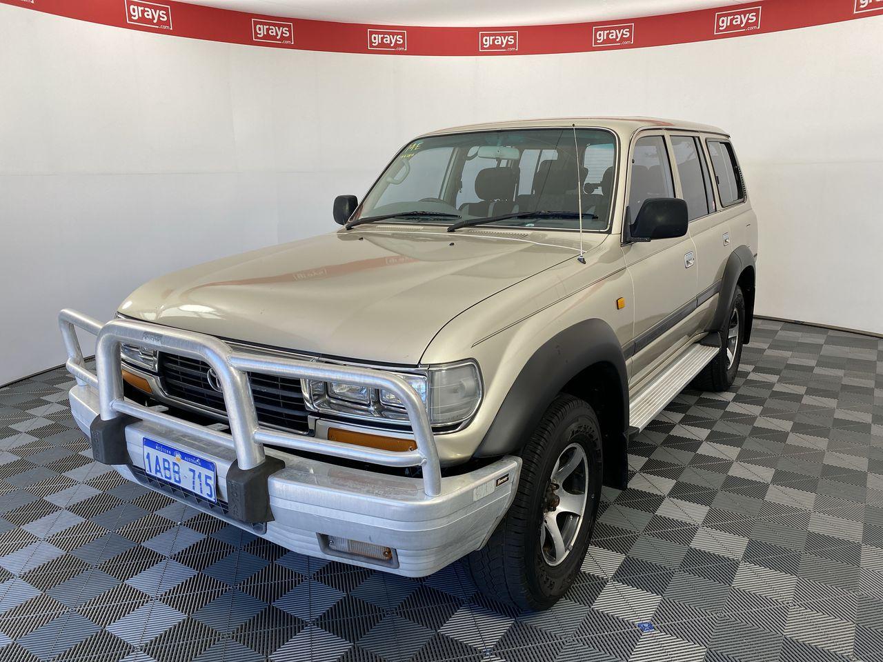 1996 Toyota Landcruiser GXL (4x4) FZJ80 Automatic 7 Seats Wagon