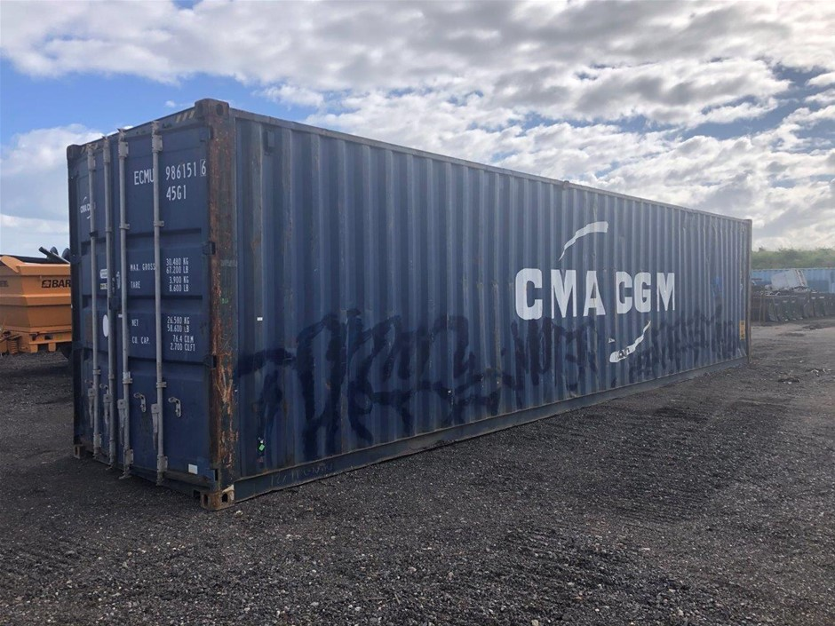 2006 40ft High Cube Shipping Container