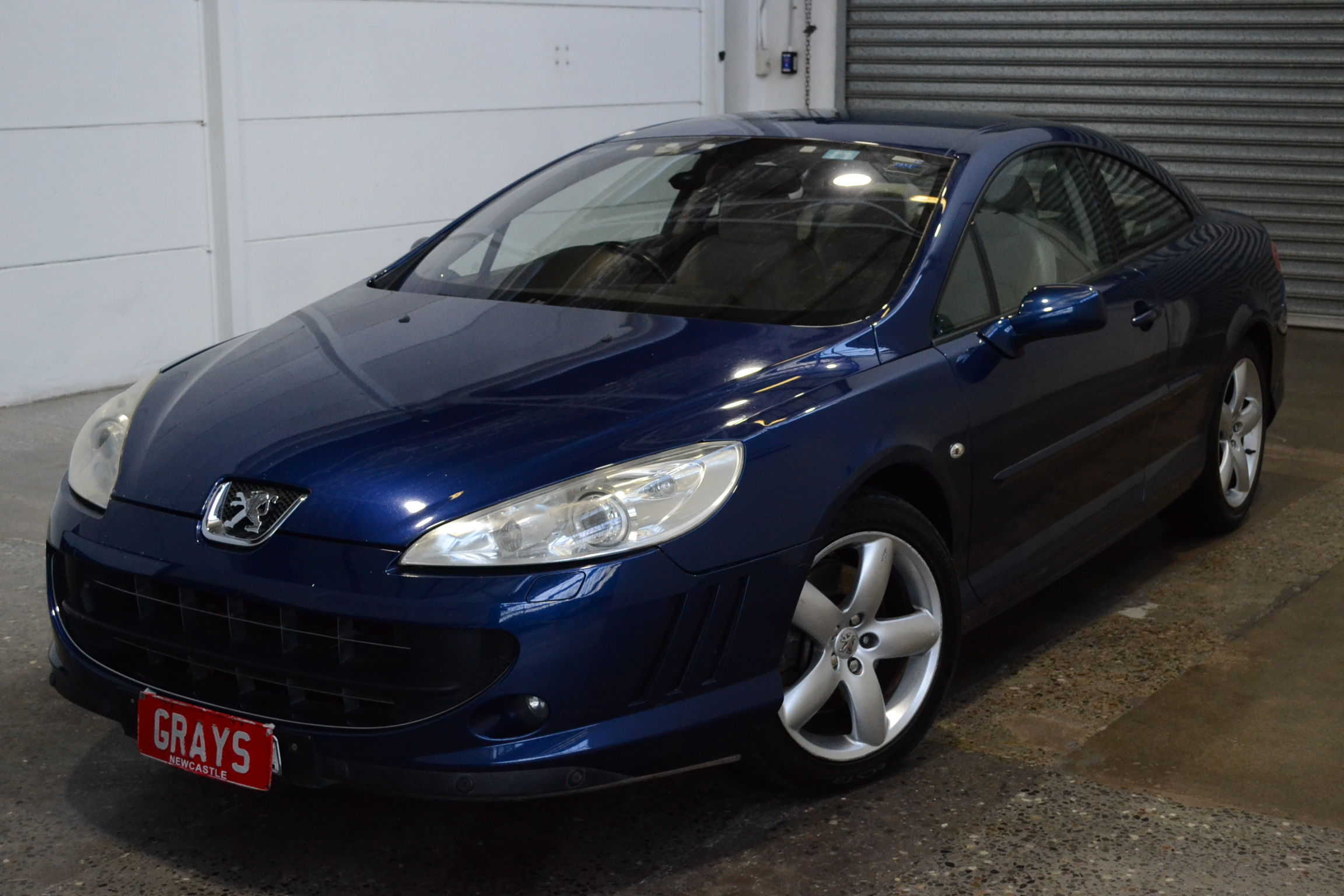 2006 Peugeot 407 Automatic Coupe