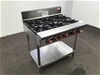 <p><b>Stoddart 6 Burner Cook Top (Non-Gas Compliant) </b></p>