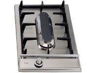 ILVE 30cm Stainless Steel Domino Teppanyaki Cooktop (H30PFVX)