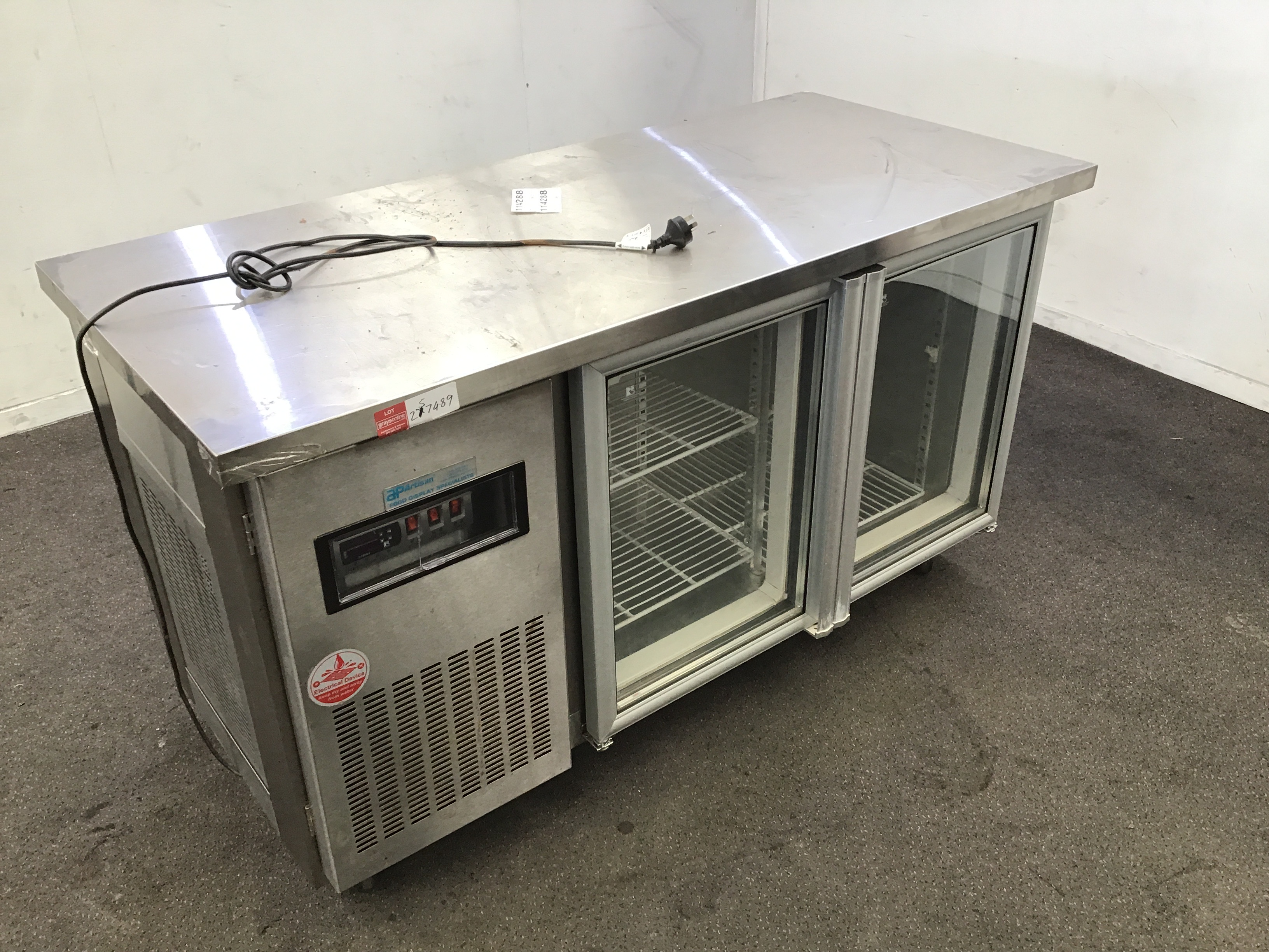 Artisan M2215 Double Door Fridge