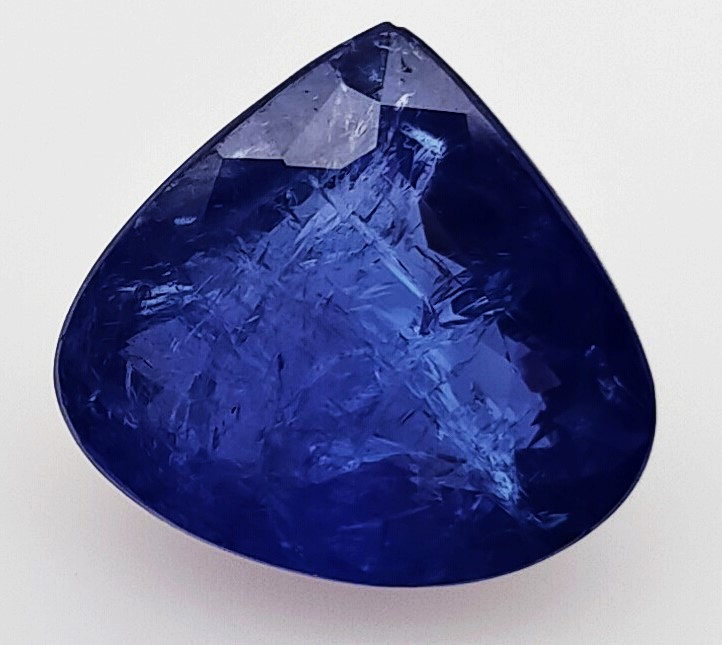 13.40 Carat Blue Tanzanite