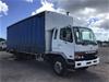 <p>1999 Mitsubishi  FM 600 4 x 2 Curtainsider Rigid Truck</p>