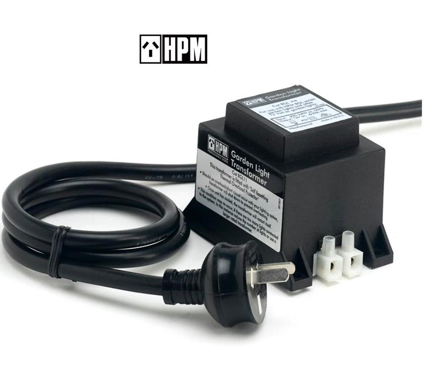 HPM 12V 60W Garden Outdoor Lighting Transformer Weatherproof IP56 Rated