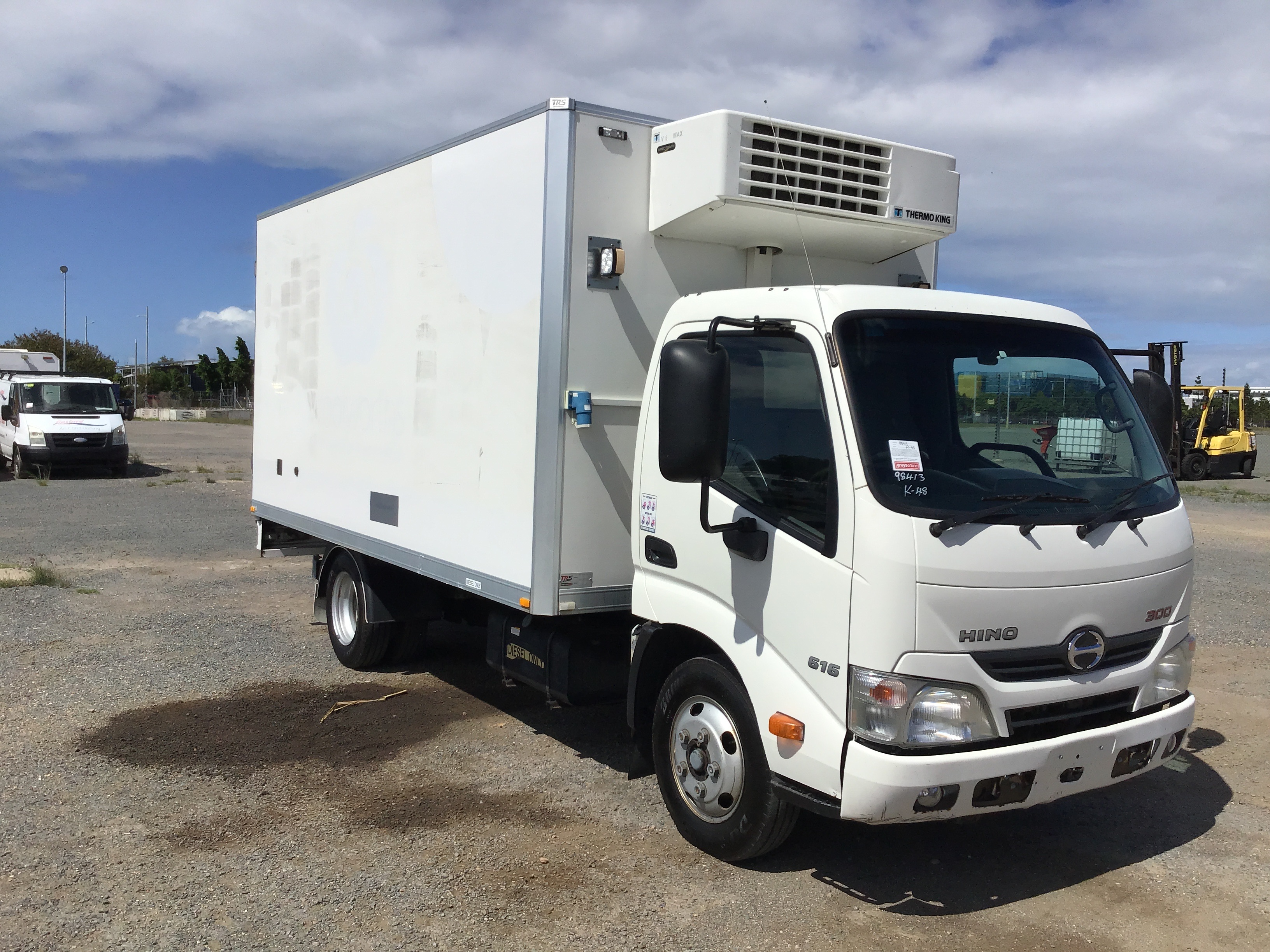 2014 Hino 300 (Ex Fleet) Refrigerated Body Truck