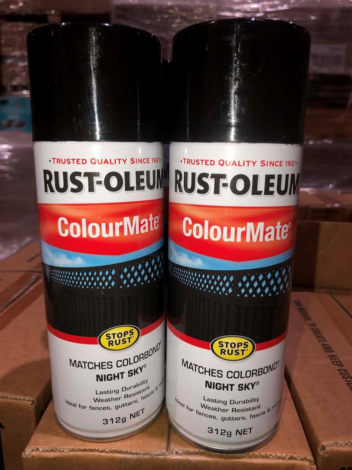 6 x Night Sky ColourMate Spray cans