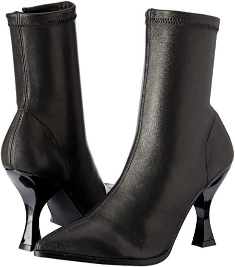 SKIN Footwear Women`s Zane Boot, Color: Black Leather, Size: 7 AU/37 EU. Bu