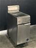 Goldstein TGF-1M/400L Single Pan Turbo Tube Deep Fryer