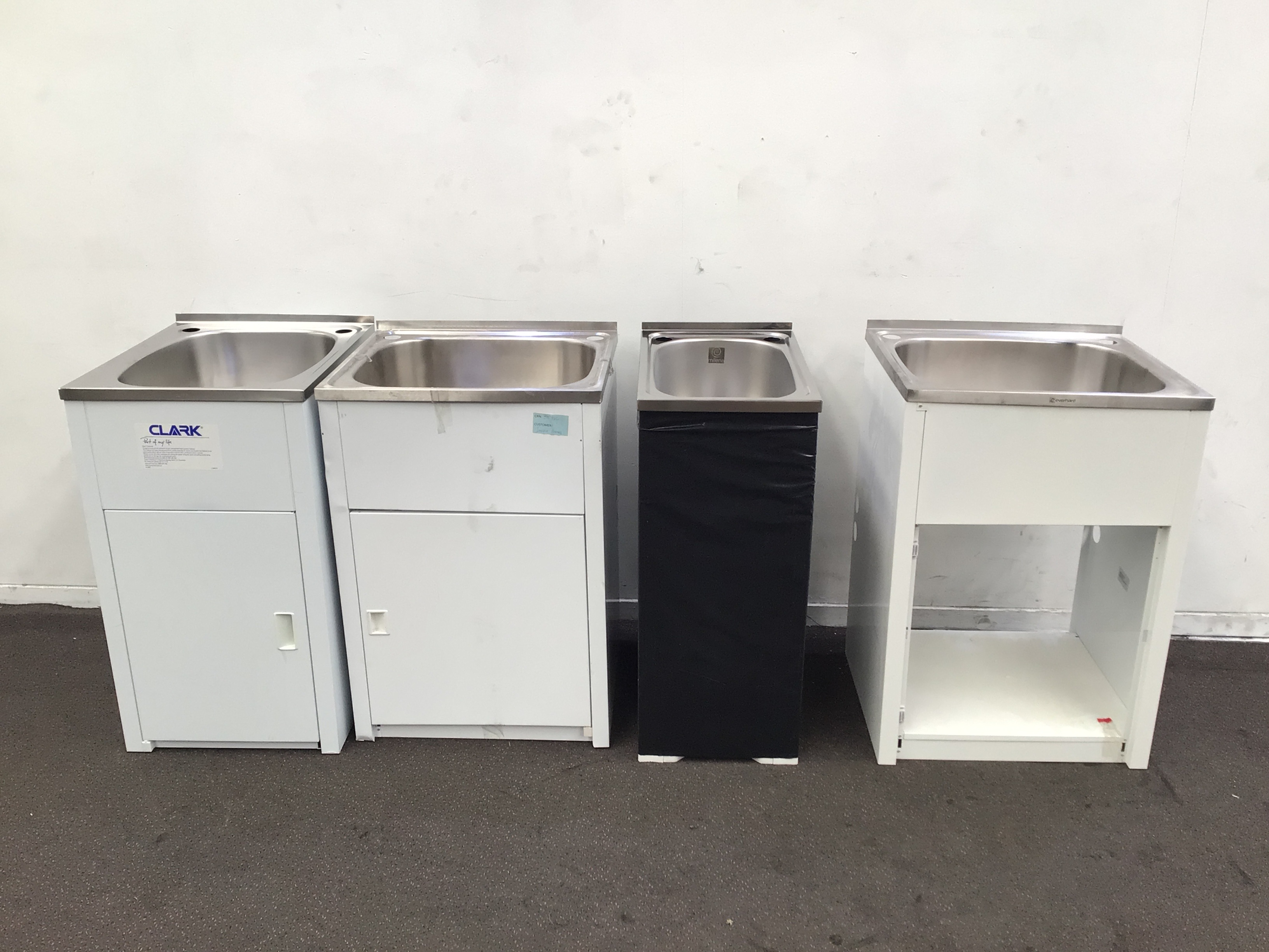 4 X Assorted Laundry Cabinets