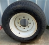 Used Wheel for Compact Tractor